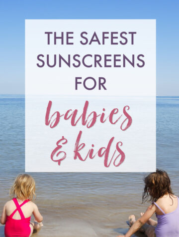 Safe sunscreen brands for little ones