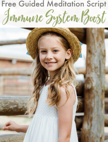 Guided meditation for kids to boost health and immunity