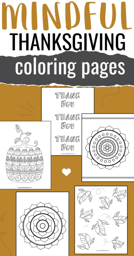 5 Free Thanksgiving Coloring Pages For Kids Green Child Magazine