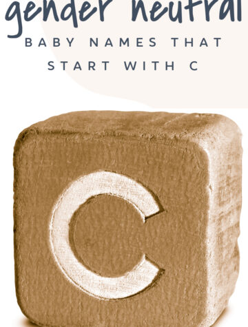 Gender Neutral Baby Names That Start with C