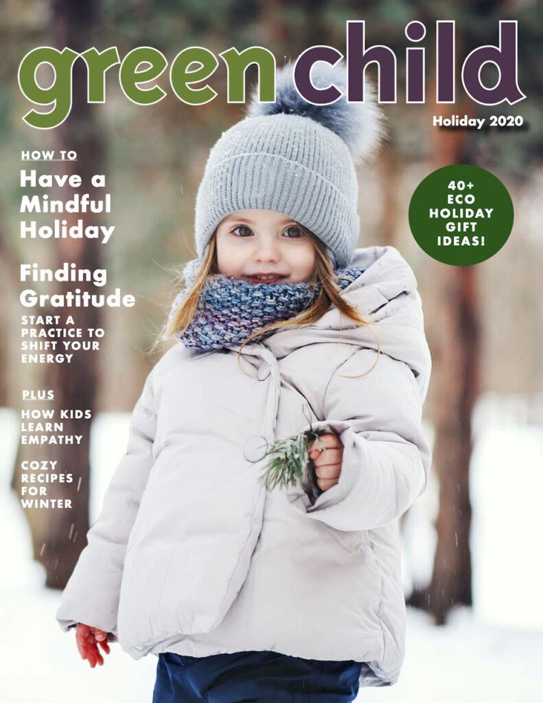 holiday 2020 issue of Green Child Magazine
