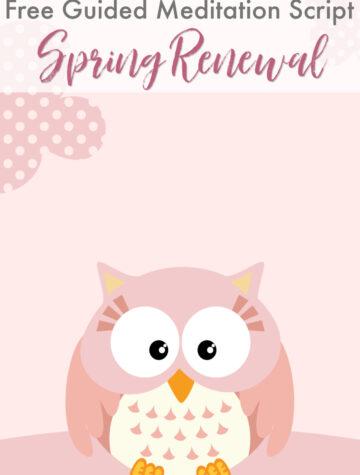 Guided Meditation Script for Kids: Spring Renewal