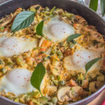 Spring Vegetable Shakshuka recipe