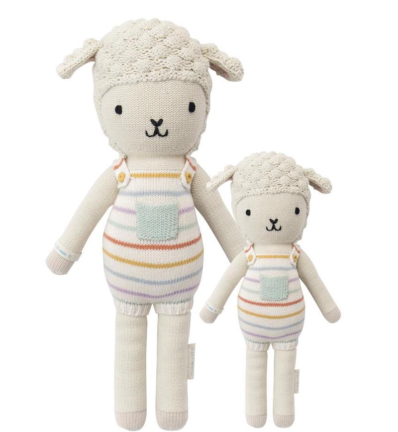 natural baby lovey dolls