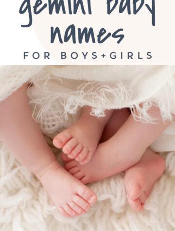 Gemini Baby Names