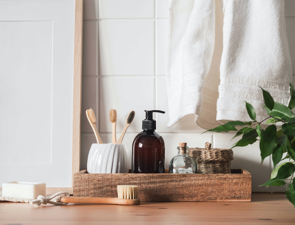 transition to an almost zero waste bathroom
